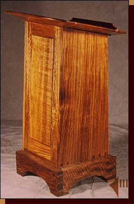 Lectern with Bible Storage